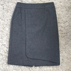 le chateau Grey Pencil Skirt